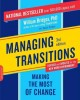 Go to record Managing transitions : making the most of change